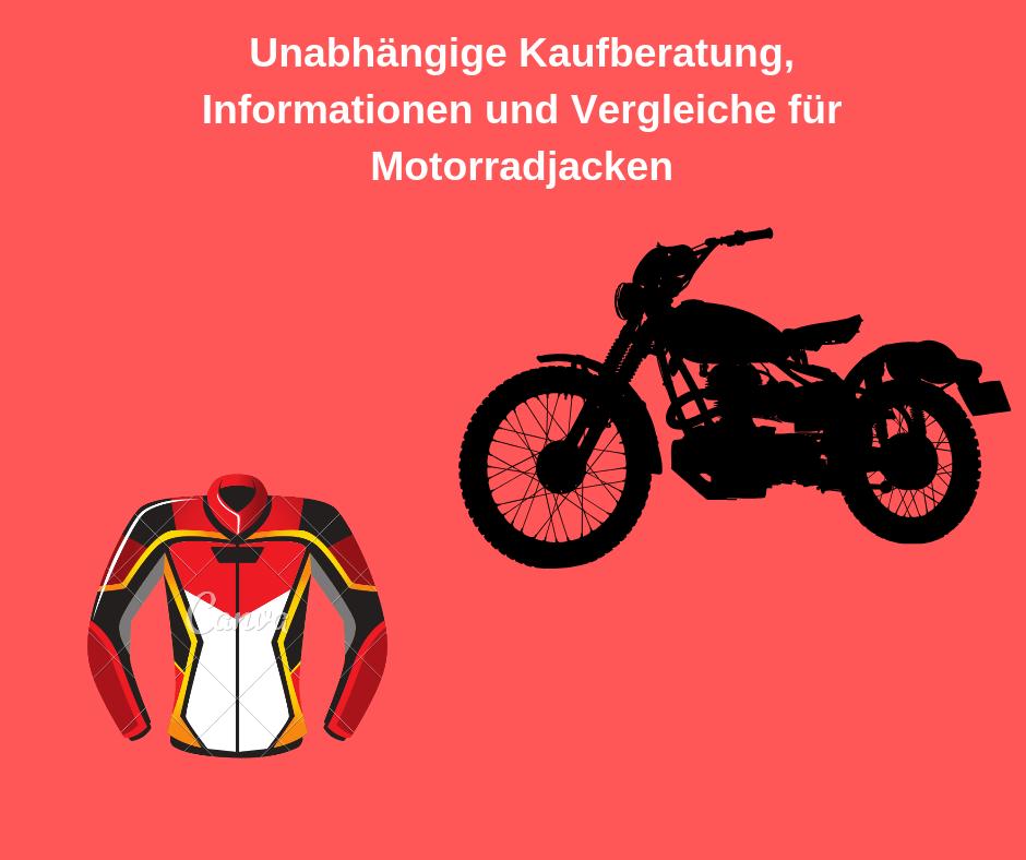 motorradjacke test bild