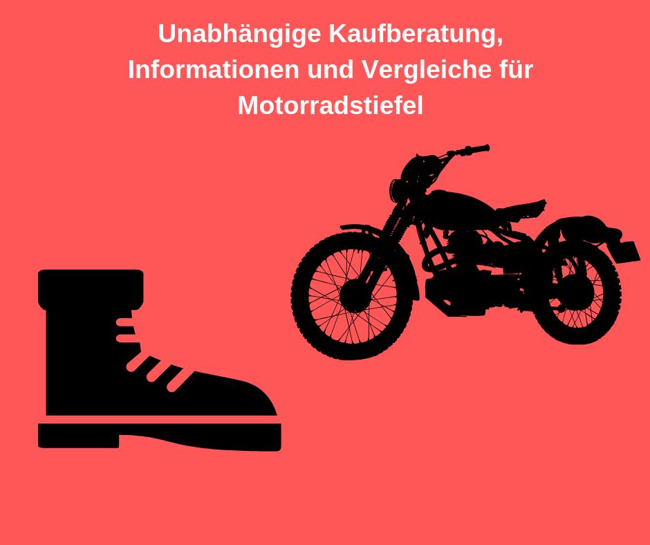 motorradstiefel test bild