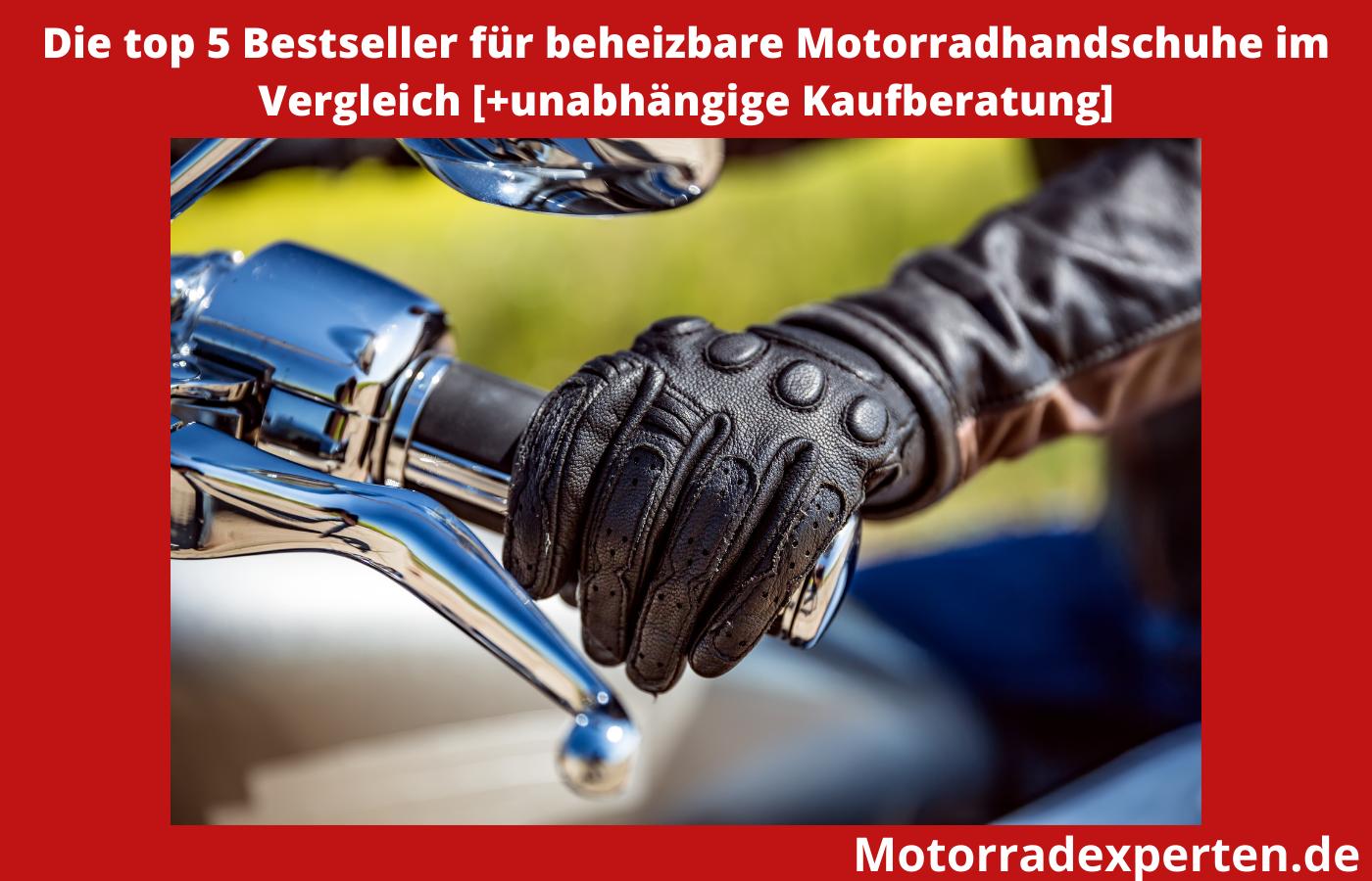 beheizbare motorradhandschuhe test